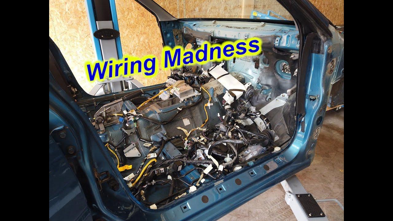 Subaru GC8 STI Build Ep  15 - Installing the new wiring harness