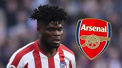 Thomas Partey tells friends he wants Arsenal move