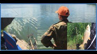 фидернаярыбалка рыбалканакарася рыбалка Рыбалка на фидер ловля карася на фидер поймала камень