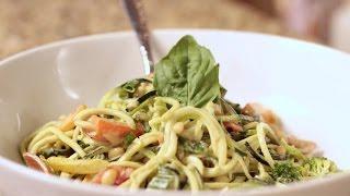 Zuchinni Spaghetti