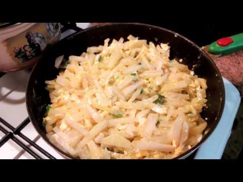 Как приготовить капусту кольраби вкусно на сковороде