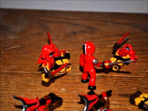 Lego Super Sentai Power Rangers) epic battle