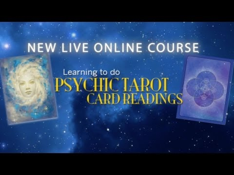 LIVE CLASS! Learn How To Do Psychic Tarot Card Readings with John Holland
