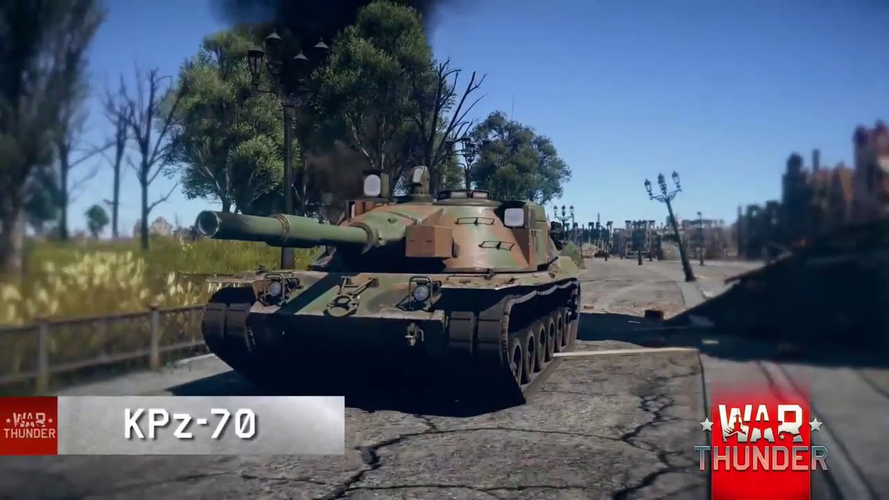 6c5ebd0612f4 KPz-70   MBT-70 - A Warrior of Two Armies update 1.71 - YouTube