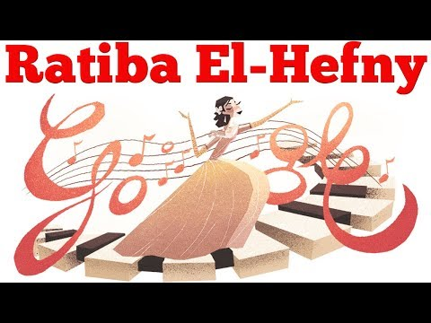 Ratiba El-Hefny Google Doodle