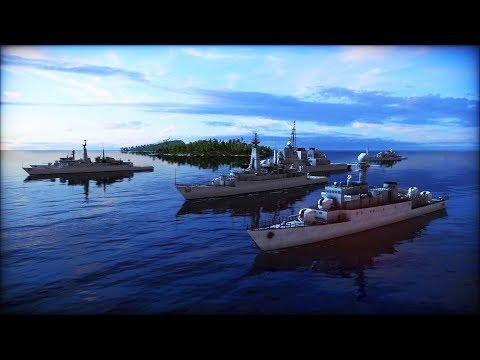 BREAKING: US CARRIER FLEET SINKS RUSSIAN NAVY ATTACK | Wargame: Red Dragon Gameplay
