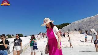 Pamukkale Travertenleri DENİZLİ (Sau Turizm)