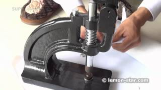 Eyelets puncher - how to buy super fast grommets machine
