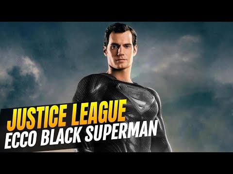 Justice League - Le prime immagini di Black Superman nella Snyder Cut