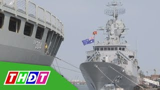 Tàu hải quân Hoàng Gia Australia thăm TP. HCM | THDT