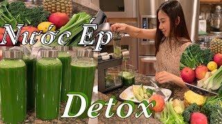 Nước Ép Rau Xanh - Cách ép rau xanh và trái cây rất tốt cho sức khoẻ - Rau Xanh Detox
