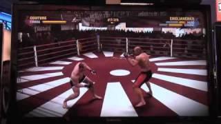 EA SPORTS MMA AJ vs Vic- 5 Minute Full Gameplay