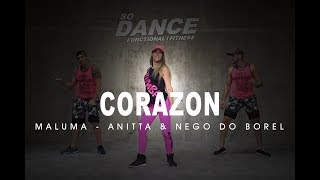 Tu Me Partiste El Corazón - Maluma ft. Anitta & Nego do Borel I Coreografía Zumba ZIN I So Dance