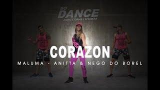 Tu Me Partiste El Corazón - Maluma ft. Anitta & Nego do Borel I Coreografía Zumba ZIN I So Dance
