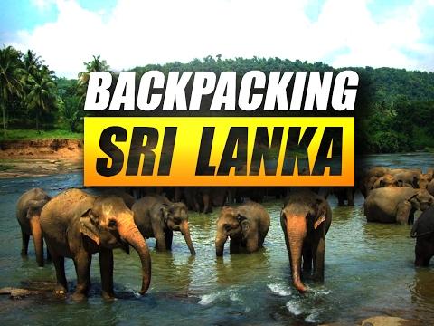 Sri Lanka Backpacking Adventure 2016   Short travel video montage