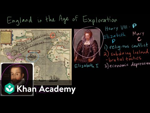 England in the Age of Exploration