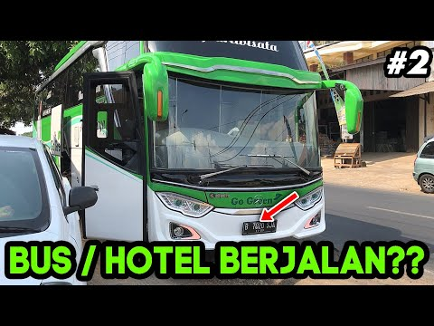 RILIS!! PRIVATE BUS RASA HOTEL | TENANG JAYA PART2