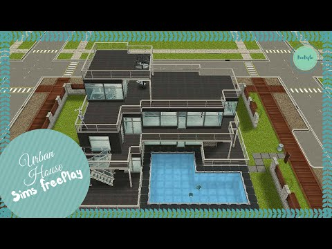 Let's Build Urban House | Sims FreePlay