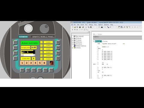 Example for indirect addressing with Siemens PLC - YouTube