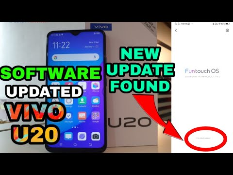 Vivo U20 System Update  || Vivo U20 Software Update