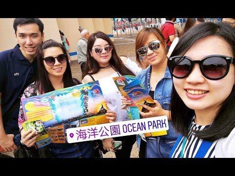 Vlog#2: HONG KONG TRIP 2017! Ocean park (DAY 1-2) | Nyssa Chung