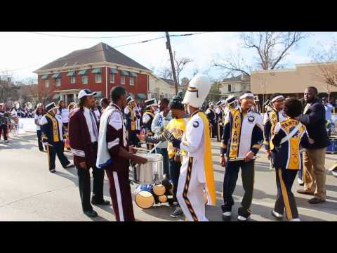 PVU & TxSU - Drum Battles @ MLK Parade (2014)