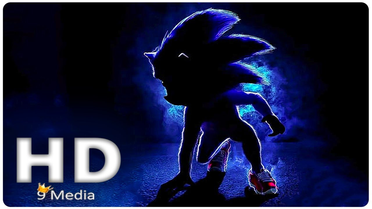 Sonic The Hedgehog First Look 2019 Jim Carrey Live Action Sonic New Upcoming Movies Hd Youtube