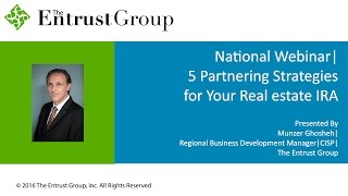 5 Partnering Strategies for your Real Estate IRA - Video Image