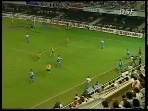 (Año 1995) Partido Completo Amistoso: Deportivo 7 - Bayern Munich 0 (15/07/1995)