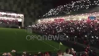 Ora News - Thirrja E Tifozëve Në Stadiumin E Ri Kombetar Rama Ik - Pa Koment