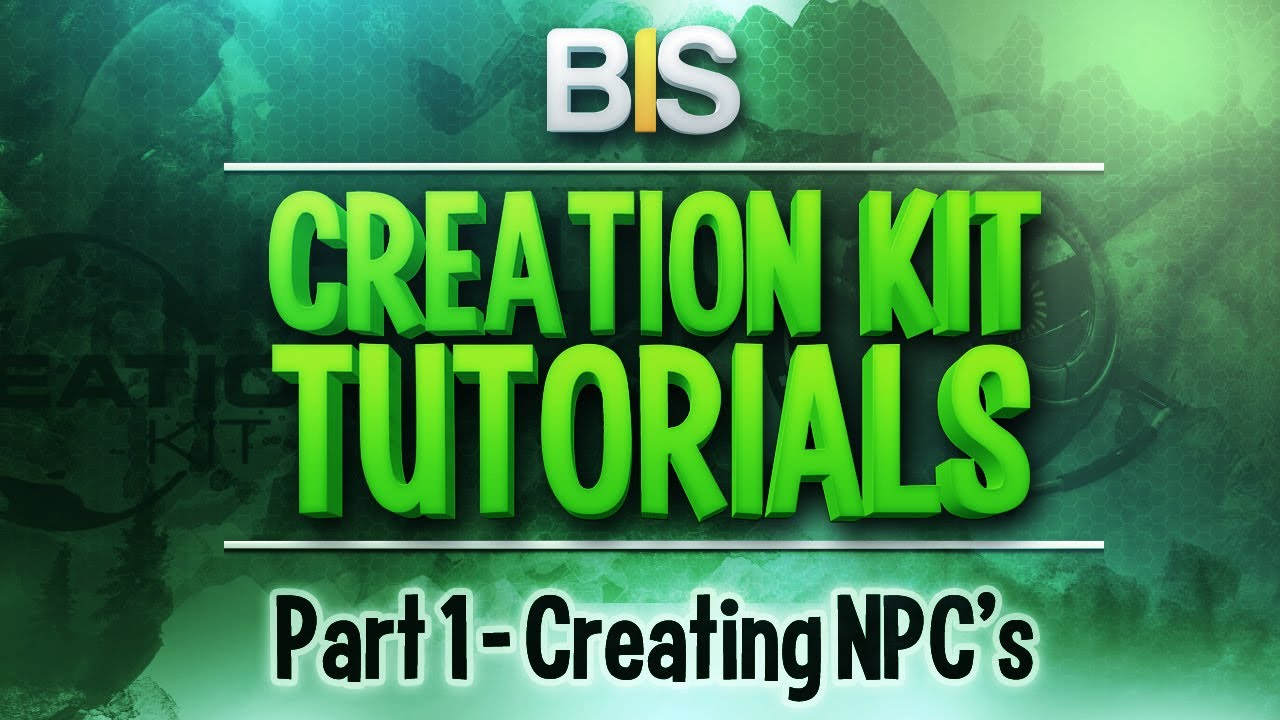 Skyrim creation kit tutorials episode 1 creating and adding skyrim creation kit tutorials episode 1 creating and adding npcs youtube baditri Gallery