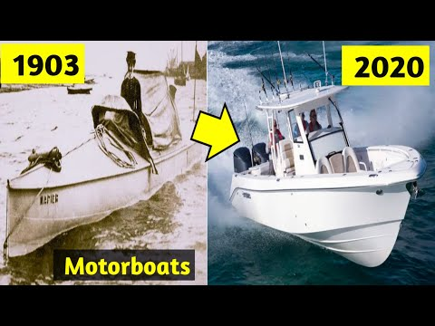 Evolution of Motorboats 1787 - 2020   History of Powerboats, Documentary video