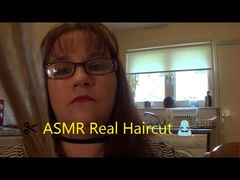 ✂️ ASMR Real Haircut 👩