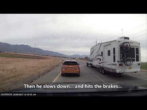 Bad Utah drivers 10/23/2017 - Northern Utah Dashcam - HD