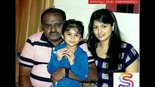 Beautiful Radhika Kumaraswamy with friends and family