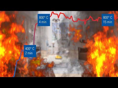 Schmelzpunkt 1000°C – Brandschutz schafft Sicherheit
