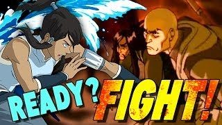 Epic Elemental Throwdown on Legend of Korra!