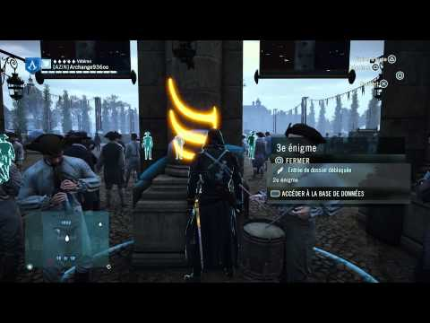 Assassin's creed Unity: Enigme  Taurus / Astri n°5 ,lieux: Les Invalides