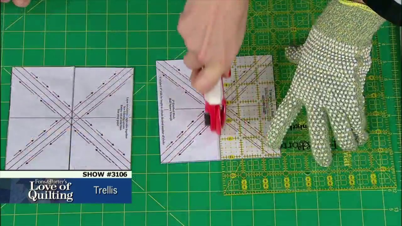 Love Of Quilting Preview Trellis With Marianne Amp Mary