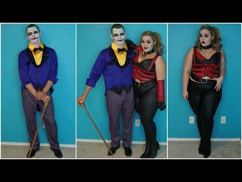 Joker & Harley Quinn | Halloween Costumes & Makeup Tutorial