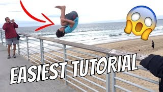 How To Do A Backflip For Beginners!!