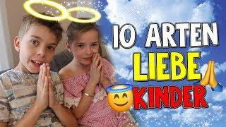 10 ARTEN LIEBE KINDER - Wenn Kinder kleine Engel sind 😍 Lulu & Leon - Family and Fun