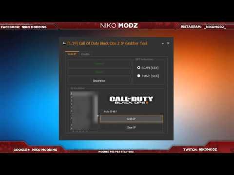 1 19] Call Of Duty Black Ops 2 IP Grabber Tool By NikoMoDz +