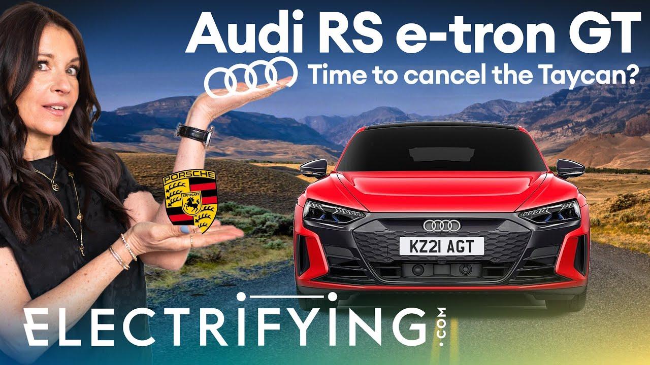 Audi RS e-tron GT 2021 review: Time to cancel that Porsche Taycan order? / Electrifying