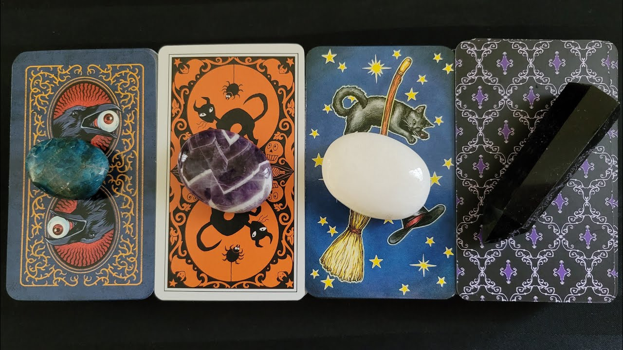Download 🔮 What Do They Want To Happen Between You?? 🥰💕 PICK A CARD Love Tarot Reading Timeless