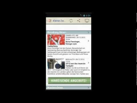 Österreich Zeitung Android 1.4