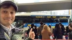 Tokyo → Narita Airport, the Cheapest | Bus vs Train vs Uber