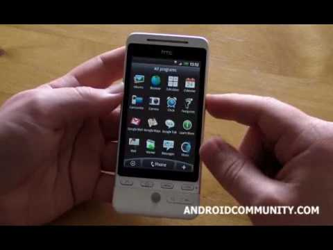 HTC Hero/T-Mobile G2 Touch - Unboxing, Overview and Sense UI Demo