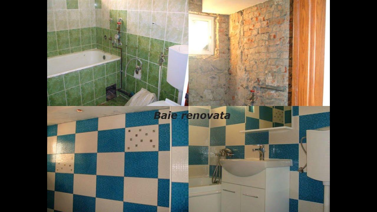 Imagini baie renovata montat gresie si faianta cu textura for Gresie si faianta baie