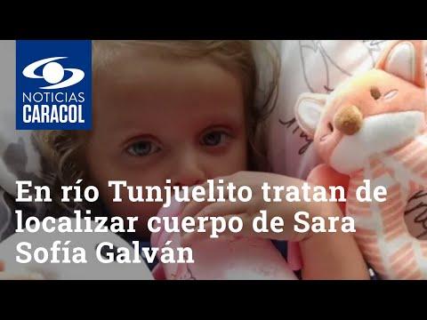 Lanzan maniquíes al río Tunjuelito para tratar de localizar cuerpo de Sara Sofía Galván